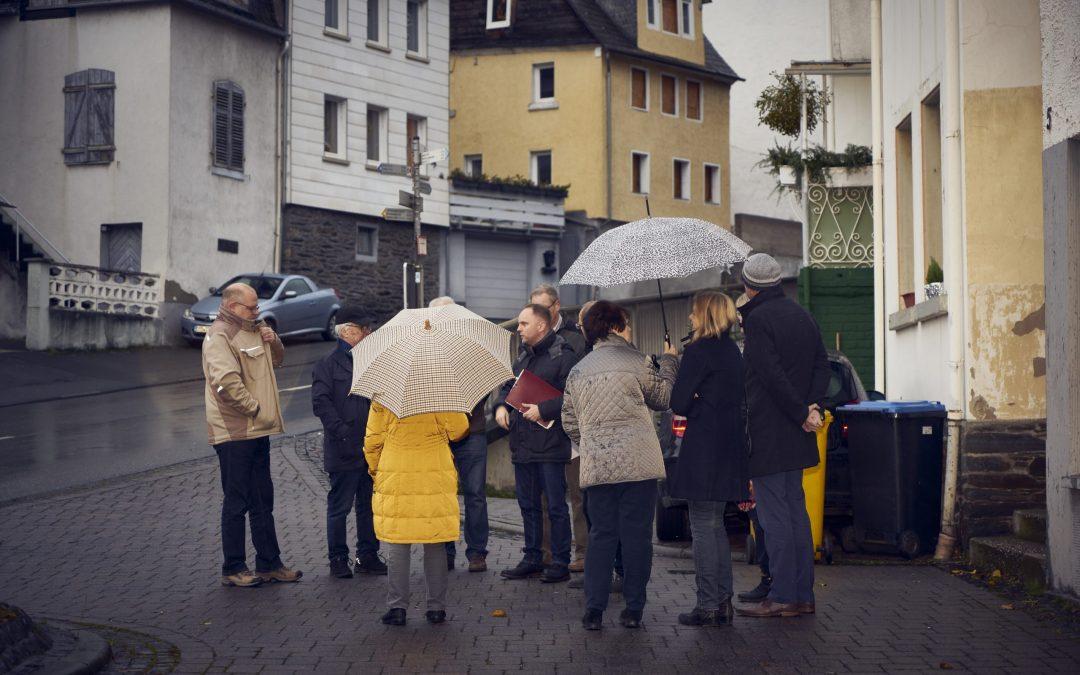 Mike Weiland besucht die Altstadt St. Goarshausen