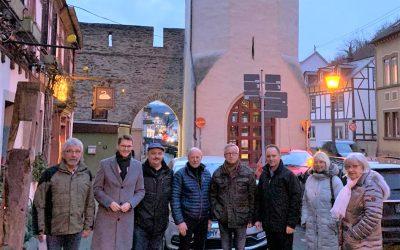 Dauer-Thema Ortsumgehung – Dauer-Unterstützer Mike Weiland erneut im Gespräch mit der BI 'Braubach lebenswerter'